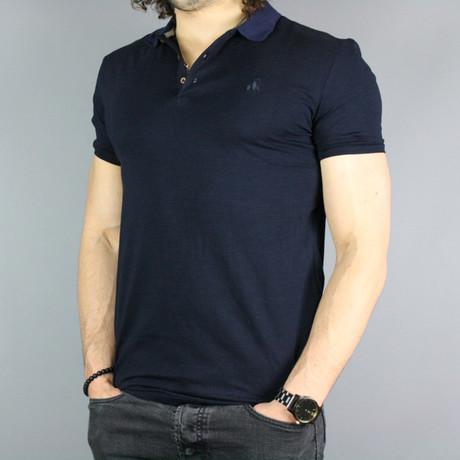 Deluxe Bamboo Polo Shirt // Pacific Blue