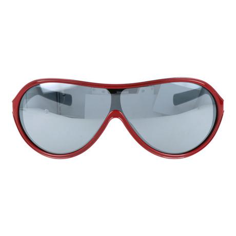 Men's Vintage 75 Sunglasses // Red + Black