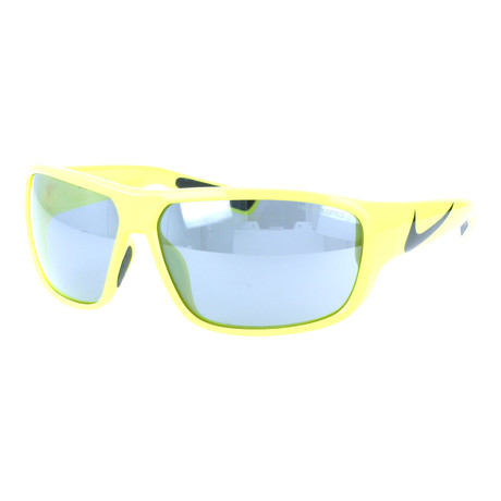 Unisex Mercurial Sunglasses // Neon Yellow + Gray Silver