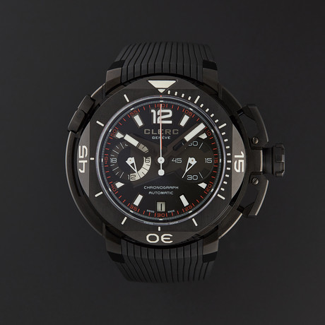 Clerc Hydroscaph Chronograph Automatic // Limited Edition // CHY-217 // Store Display