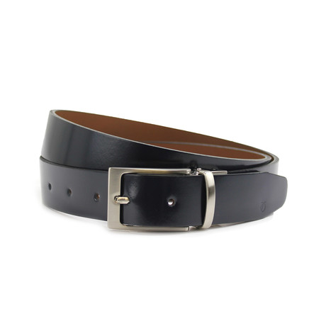 PW Giles Belt // Black + Khaki