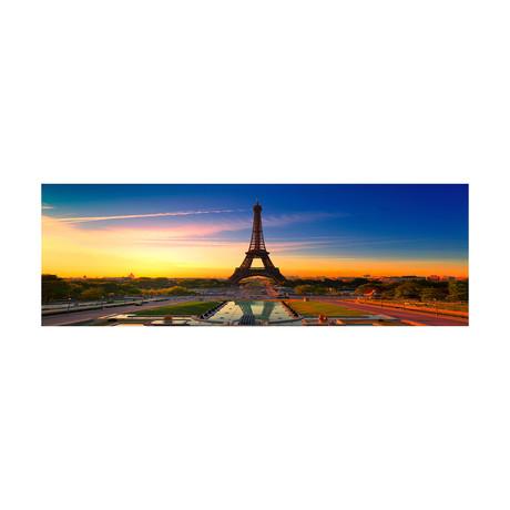 """Eiffel Sun (20""""H x 60""""W x 1""""D)"""