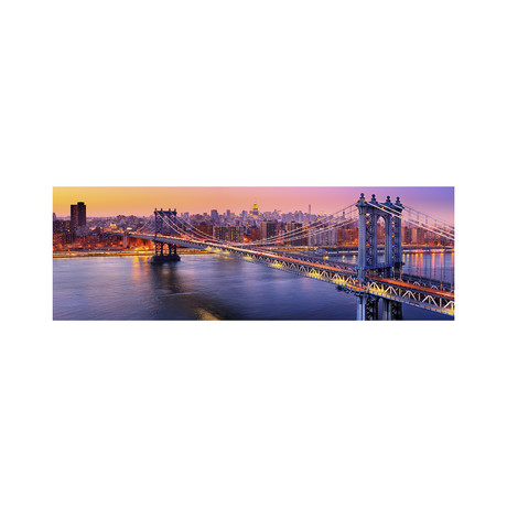 Manhattan Bridge Twilight