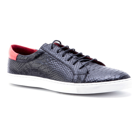 Riff Low-Top Sneaker // Black (US: 11.5)