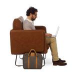 Spongy // Leather Armchair