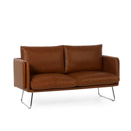Spongy // Leather Sofa