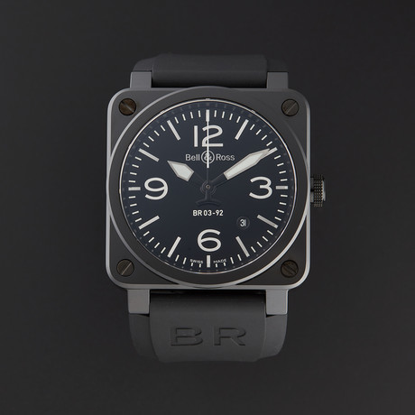 Bell & Ross Aviation Automatic // BR0392-CER-BLP/SRB // Store Display