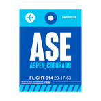 ASE Aspen Luggage Tag