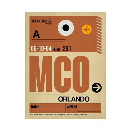 MCO Orlando Luggage Tag
