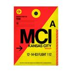 MCI Kansas City Luggage Tag