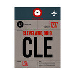 CLE Cleveland Luggage Tag