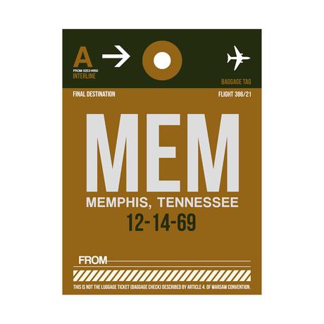 MEM Memphis Luggage Tag