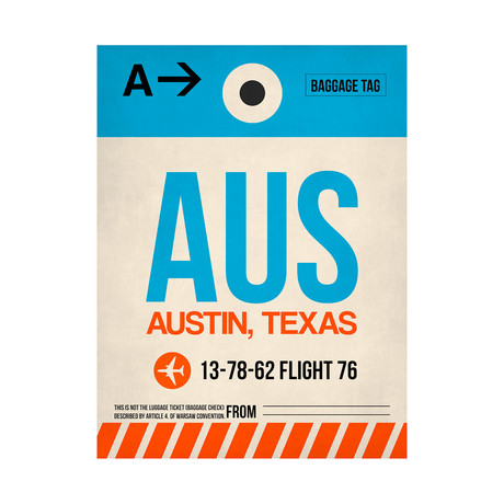 AUS Austin Luggage Tag (v.2)