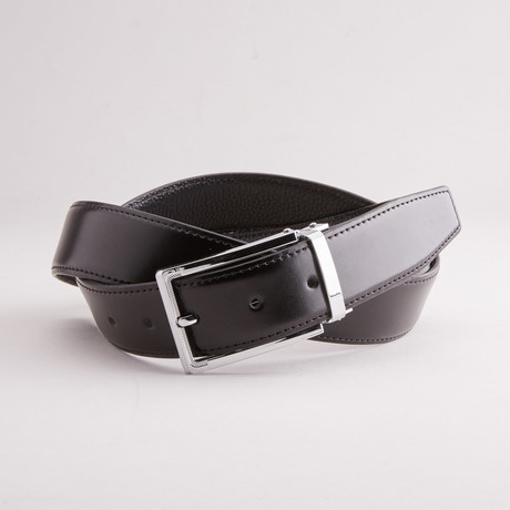 Solid Traditional Style Belt // Black