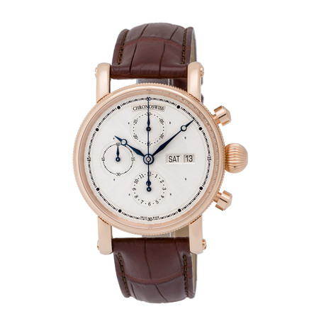 Chronoswiss Day Date Chronograph Automatic // CH-7541KR