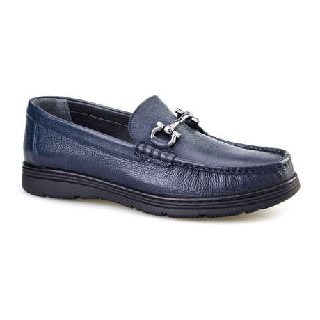 Devrim Bit Loafer // Dark Blue