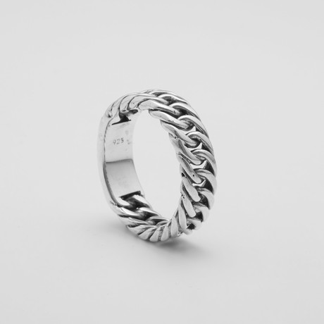 Braided Link Ring (Size: 9)