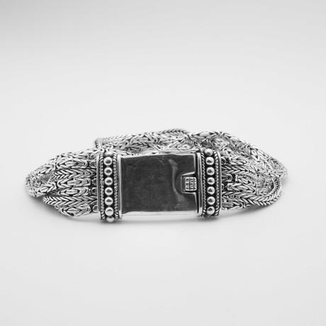 Fancy Byzantine 6 Row Bracelet