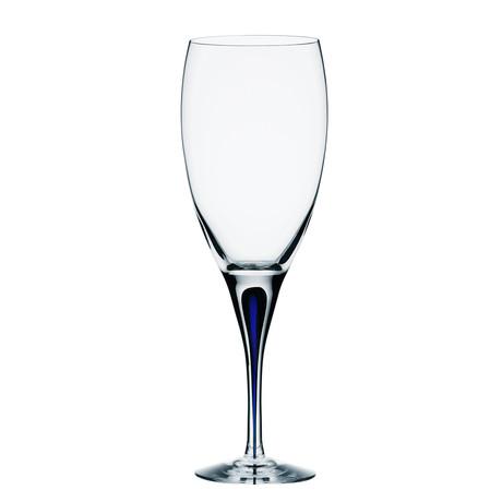 Intermezzo Blue White Wine Glass