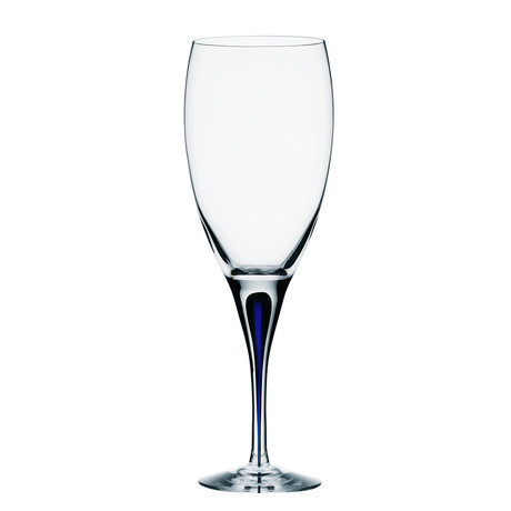 Intermezzo Blue White Wine Glass