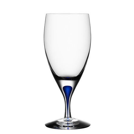 Intermezzo Blue Iced Beverage Glass