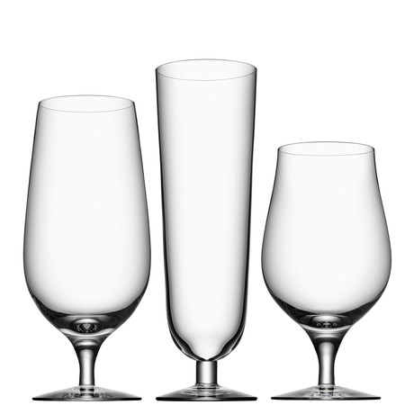 Beer Collection Glasses // Set of 3