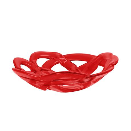 Basket Bowl // Large // Red