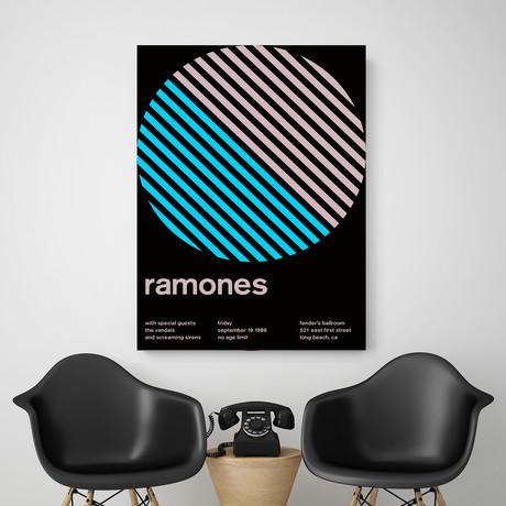 Ramones 1986 // Blue
