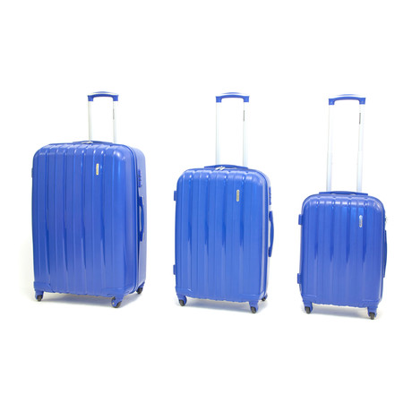 Icon I Hardshell Trolley // Set of 3 // Blue
