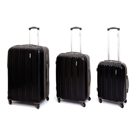 Icon I Hardshell Trolley // Set of 3 // Black!