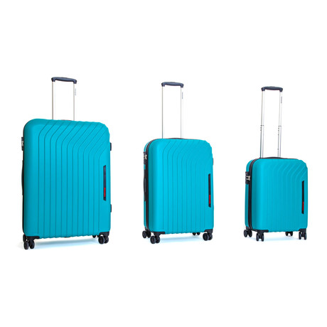 Cielo Hardshell Trolley // Set of 3 // Turquoise