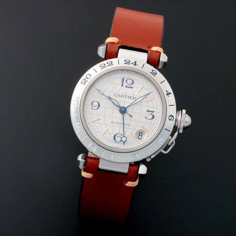 Cartier Pasha GMT Automatic // 3173 // Pre-Owned
