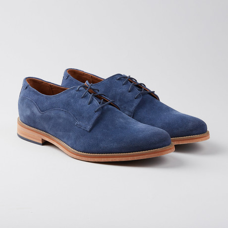 Indi Suede Derby // Peacoat