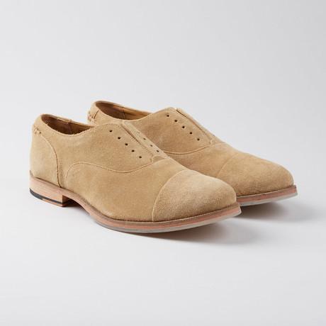 Baily Laceless Cap-Toe Oxford // Studland
