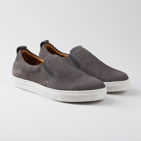 Povey Slip-On Sneaker // Grey