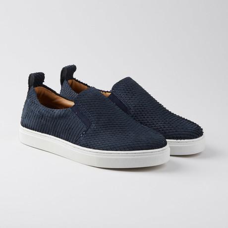 Povey Slip-On Sneaker // Navy