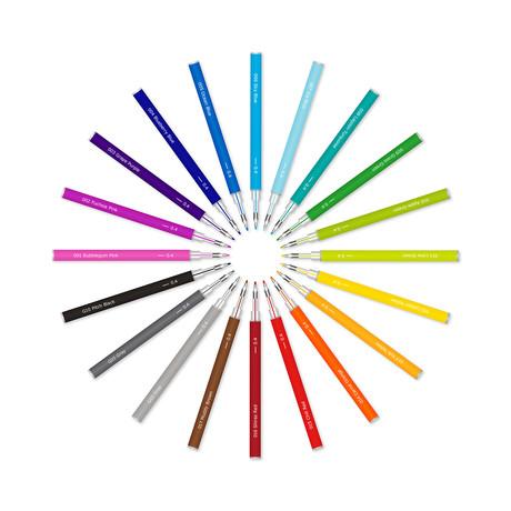 20 Color Refills