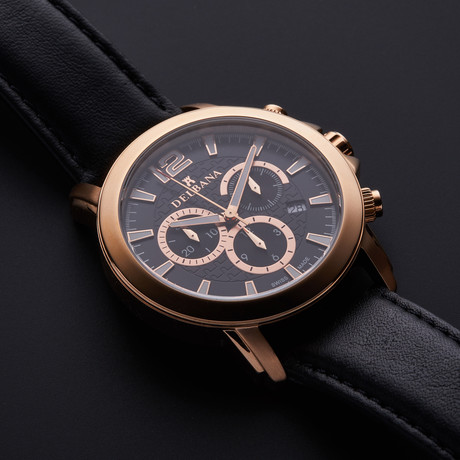 Delbana Lucerne Chronograph Quartz // 43602.472.6.034
