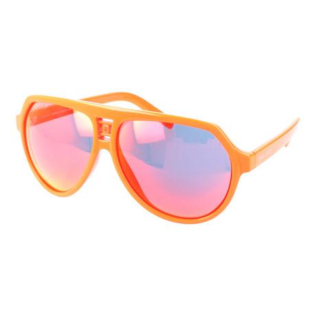 Unisex Hudson Sunglasses // Shiny Orange