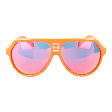 Hudson Sunglasses // Orange