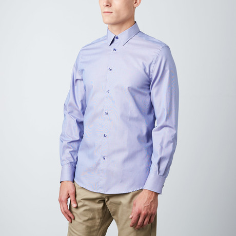 versace dress shirts. classic trend fit dress shirt // purple micro stripe (size: 15.5) versace shirts