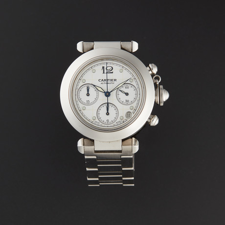 Cartier Pasha C Chronograph Automatic // 2412 // Pre-Owned