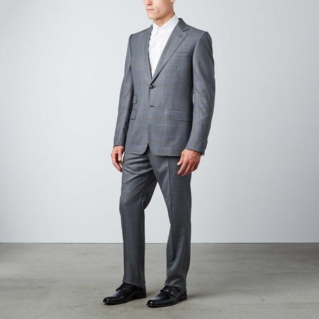 Signoria Plaid Suit  // Grey + Blue
