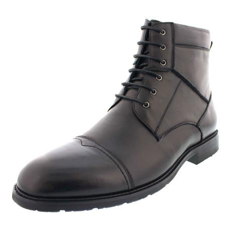 San Jose Cap Toe Dress Boot // Black