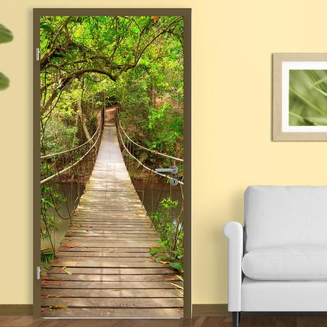 Jungle Catwalk Door Mural
