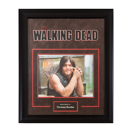 The Walking Dead Signed Photograph