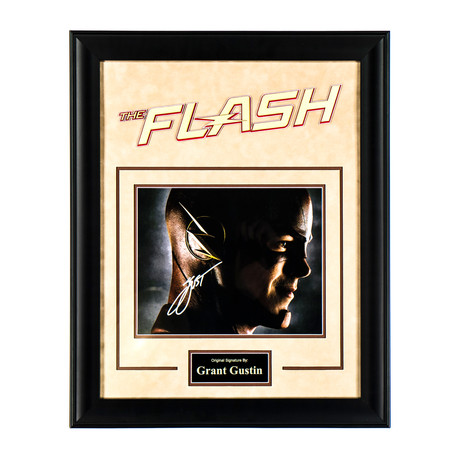 The Flash Signed Photograph