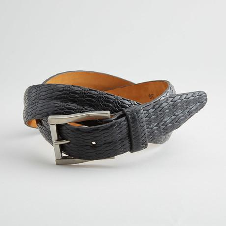 Gallo Leather Belt // Black