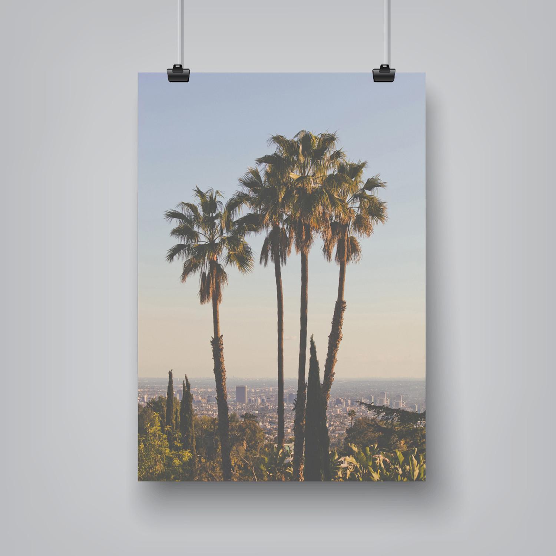 la ii poster print black frame 19quotw x 25quoth luke