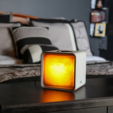 ZenCube // Purifying Himalayan Smart Lamp (Black)